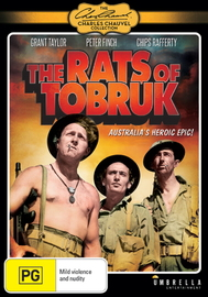 The Rats of Tobruk on DVD