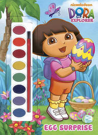 C/Act Paint:Dora Exp - Egg Surprise by Golden Books