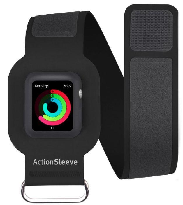 Twelve South ActionSleeve for Apple Watch 42mm - Slim (Black)