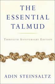 The Essential Talmud by Adin Steinsaltz
