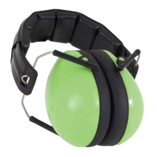 Banz Earmuffs - Lime Green