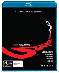 Suspiria on Blu-ray