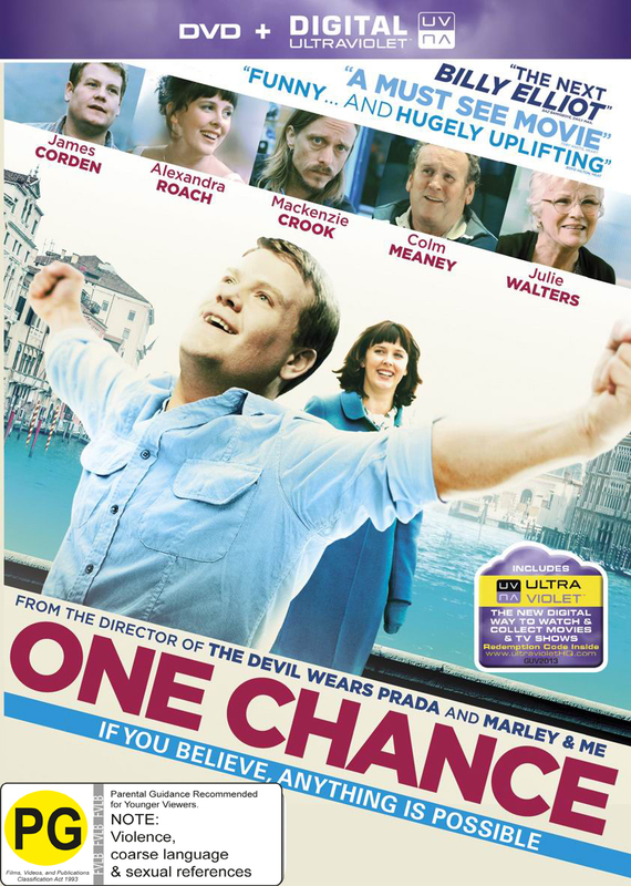 One Chance on DVD