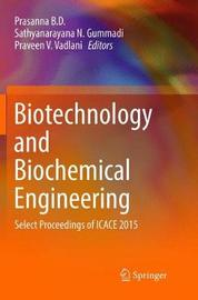 Biotechnology and Biochemical Engineering image