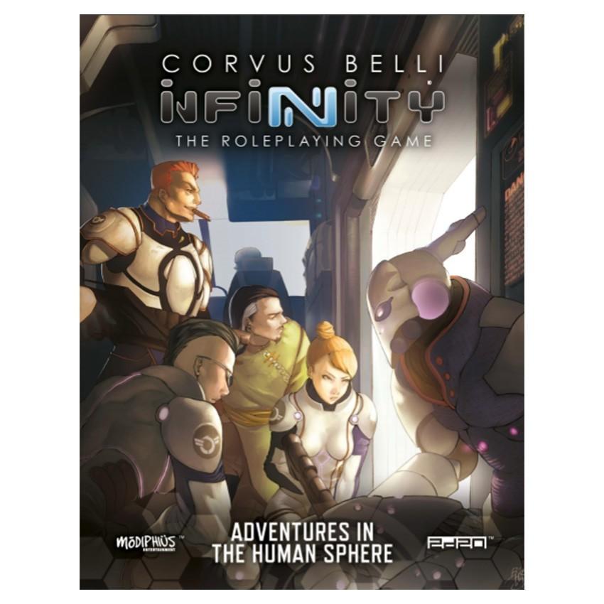 Infinity: Adventures in the Human Sphere image