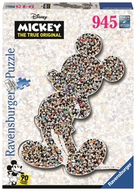 Ravensburger: 945 Piece Puzzle - Mickey Mouse Shaped