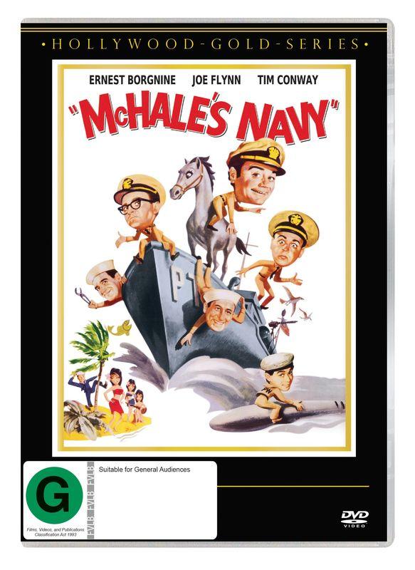 McHale's Navy on DVD