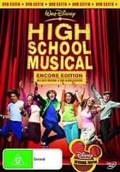 High School Musical - Encore Edition on DVD