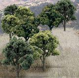 Woodland Scenics Green Deciduous Trees (14 pack)