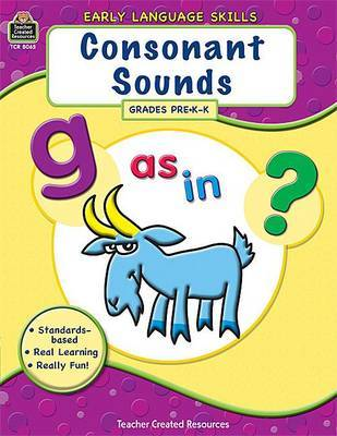 Consonant Sounds: Pre K-K by Hunter Calder