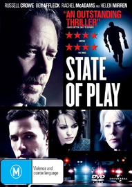 State of Play on DVD image