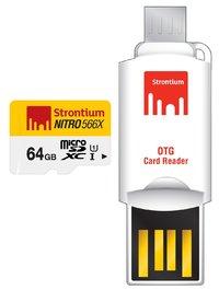 64GB Strontium NITRO Micro SD with OTG Adaptor