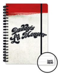 Suicide Squad Notebook A5 Daddy's Little Monster image