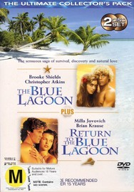 The Blue Lagoon Collector's Pack on DVD image