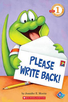 Please Write Back! by Jennifer E. Morris image