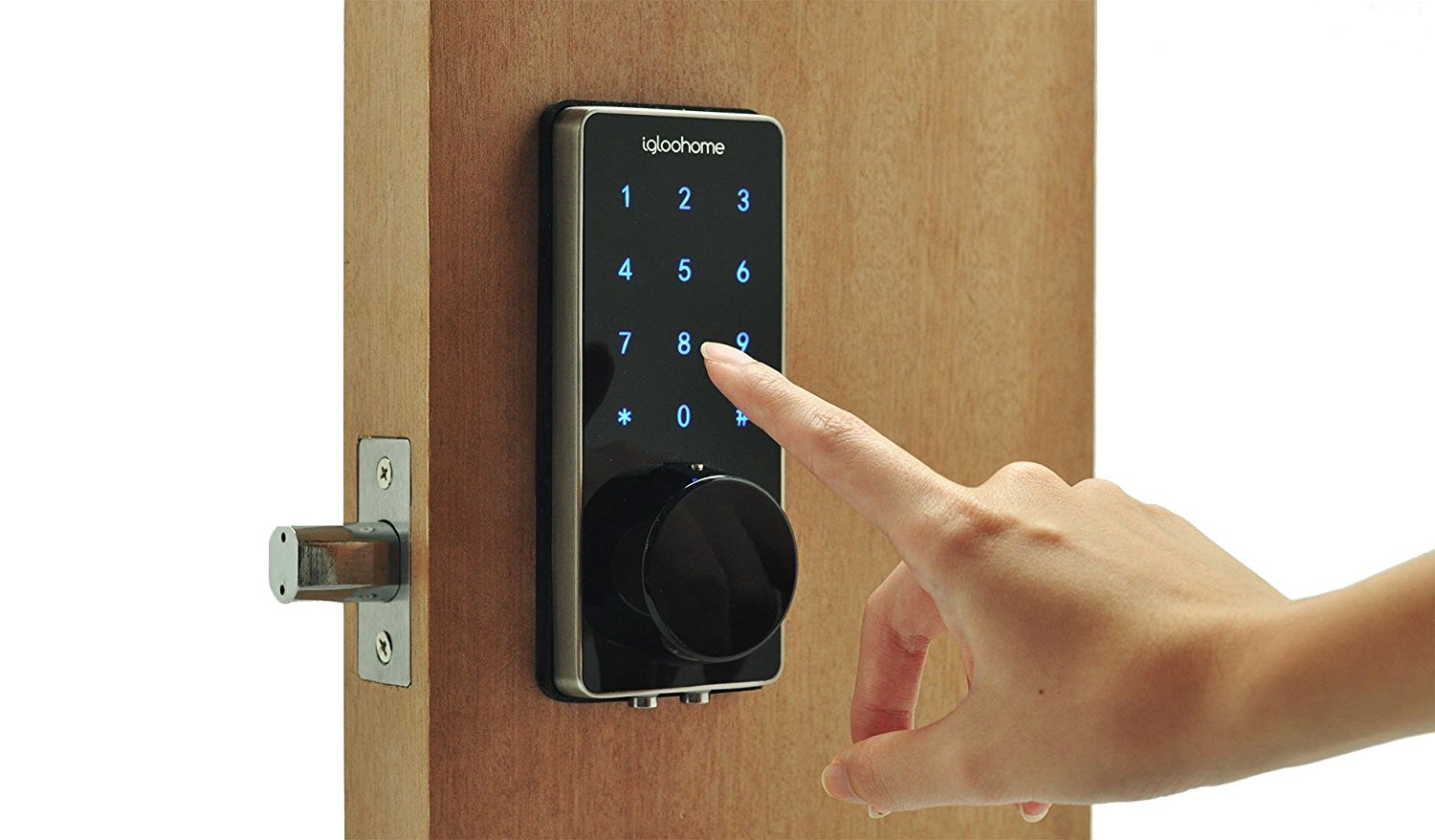 Igloohome: Smart Lock Deadbolt II - Black image