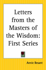 Letters from the Masters of the Wisdom: First Series image