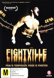 Fightville on DVD