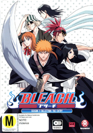 Bleach Collection 02 (Eps 21-41) DVD