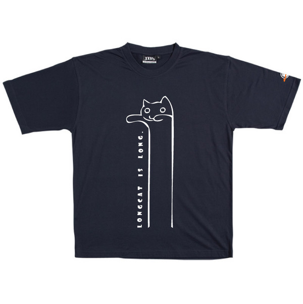 Longcat - Tshirt (Navy) for  image