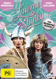 Laverne & Shirley - The Seventh Season on DVD