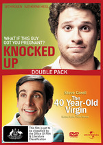 Knocked Up / 40 Year-Old Virgin (2 Disc Set) on DVD