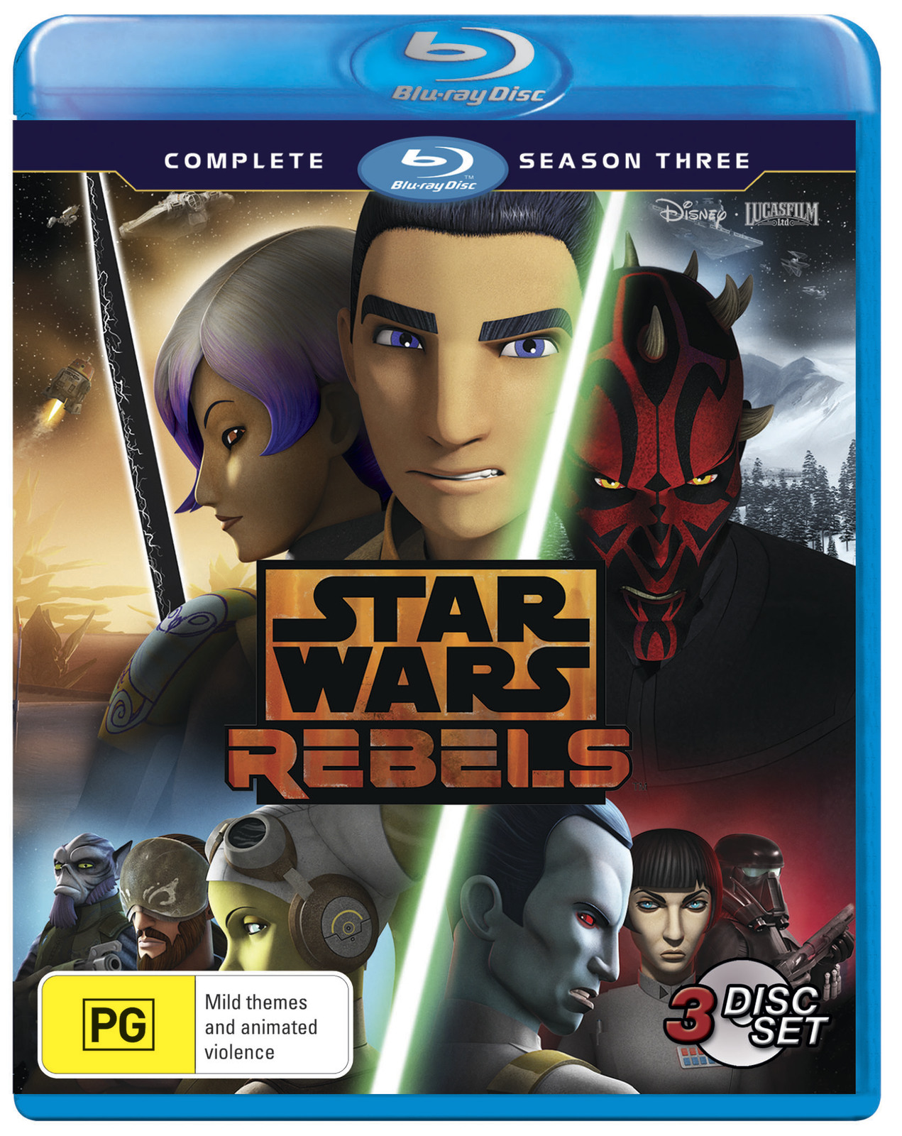 Star Wars: Rebels - Season 3 on Blu-ray image