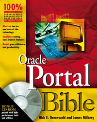 Oracle9iAS Portal Bible by Rick Greenwald image
