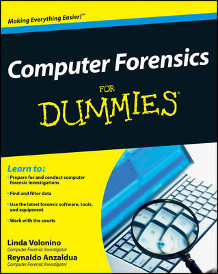 Computer Forensics For Dummies by Carol Pollard image