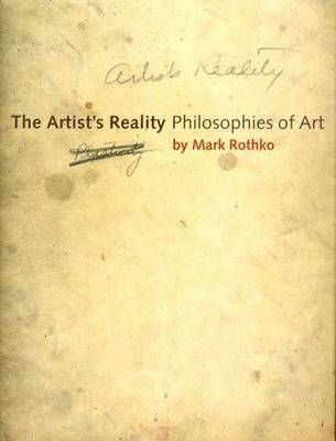 The Artist's Reality by Mark Rothko image