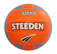 Steeden Flash Netball Orange (Size 4)