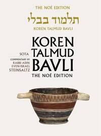 Koren Talmud Bavli: v. 20 by Adin Steinsaltz