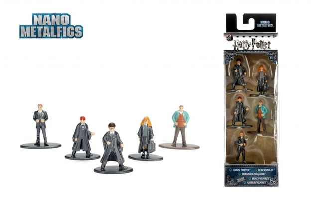 Jada Metal Minis: Harry Potter - Nano Metalfigs 5-Pack #1