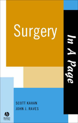 In A Page Surgery by Scott Kahan