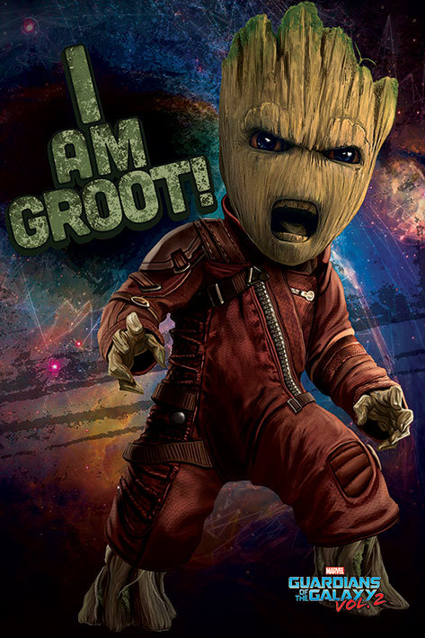 Guardians of the Galaxy Vol.2 Maxi Poster - Angry Groot (686) image