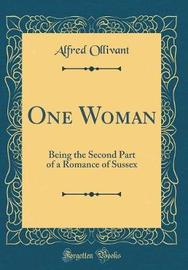 One Woman by Alfred Ollivant image