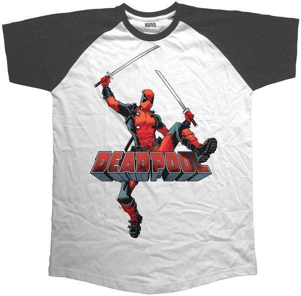 Deadpool Logo Jump (XX Large)