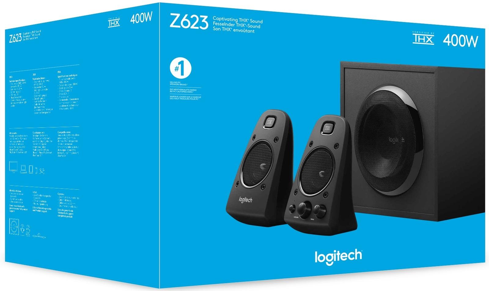 Logitech Z623 Speaker System with Subwoofer image