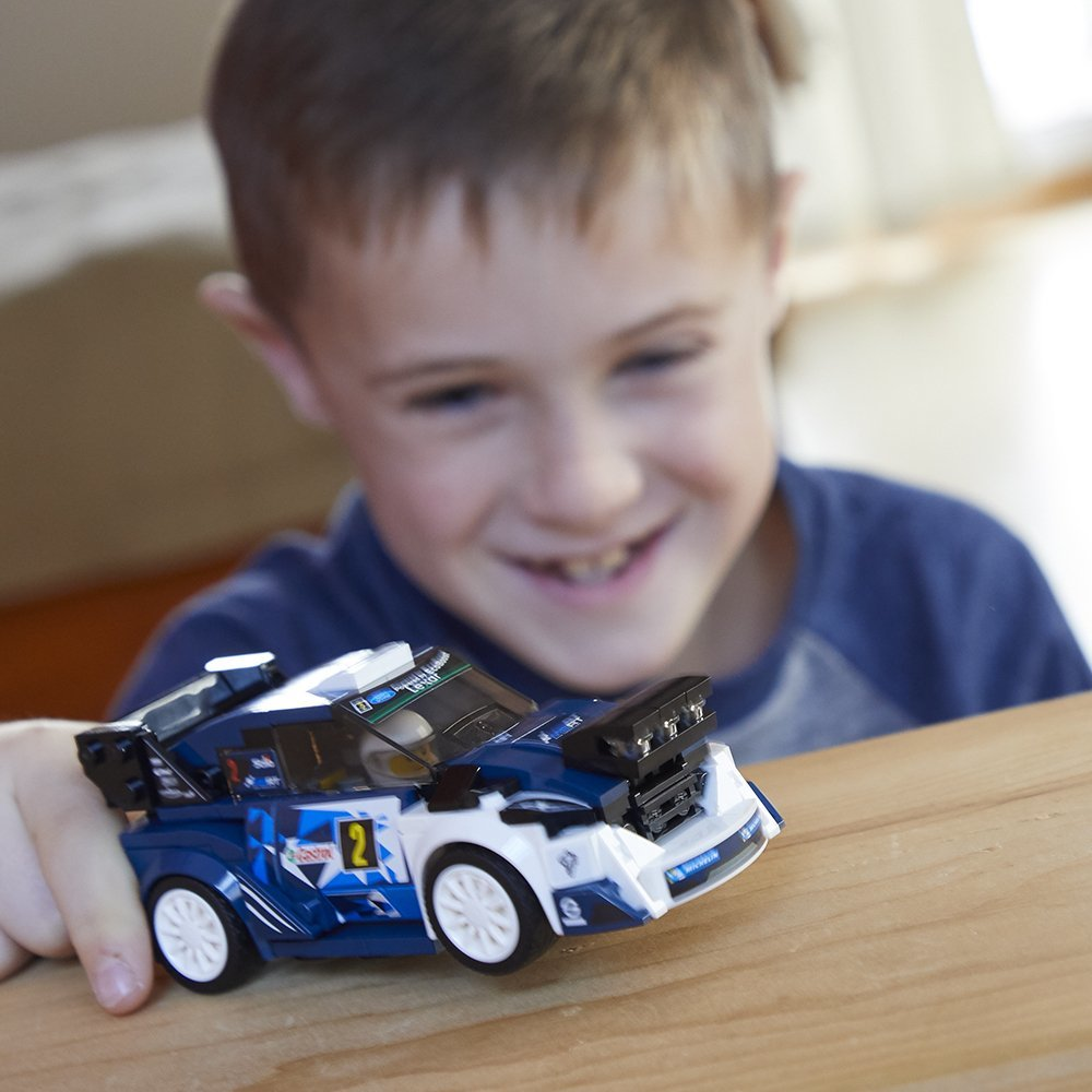 LEGO Speed Champions: Ford Fiesta M-Sport WRC (75885) image