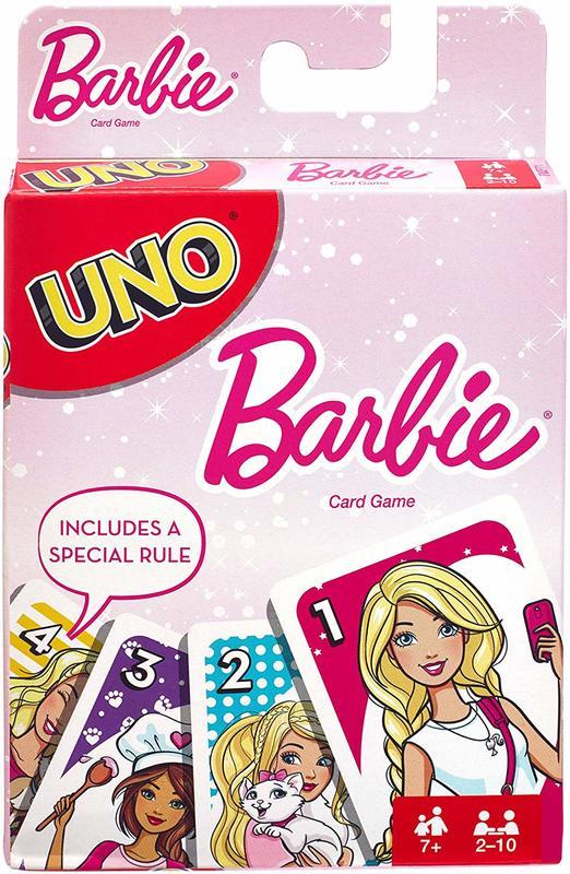 Barbie Uno - Card Game