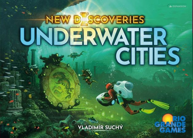 Underwater Cities: New Discoveries - Game Expansion