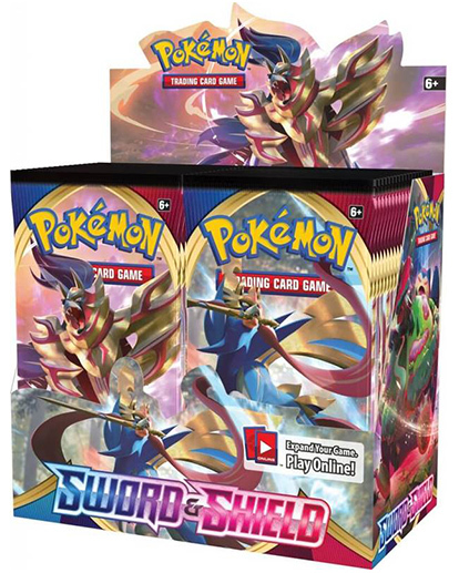 Pokemon TCG: Sword and Shield Booster Box image