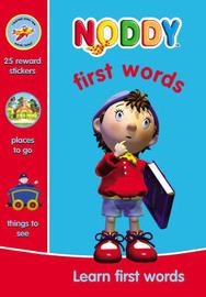 Noddy First Words by Enid Blyton image