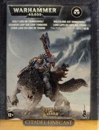 Warhammer 40,000 Wolf Lord on Thunderwolf