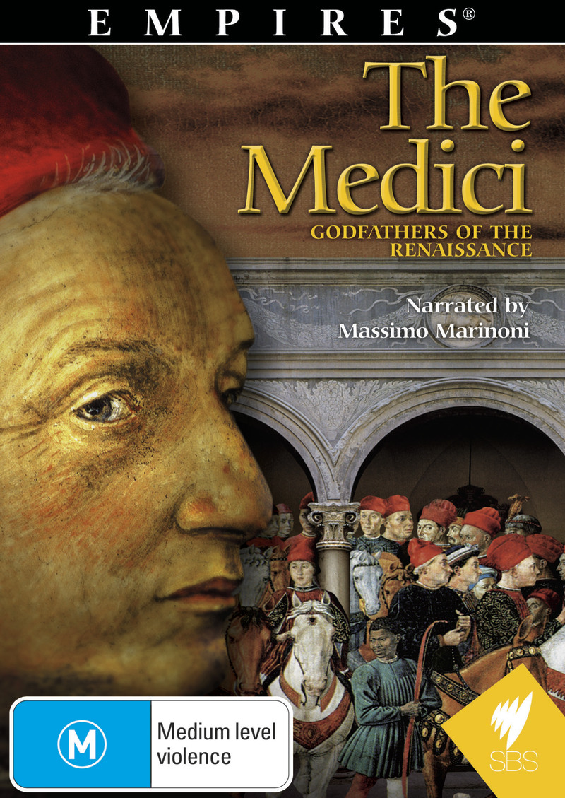Empires: The Medicis - Godfathers of the Renaissan on DVD image