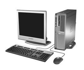 Hewlett-Packard HP dx7300 ST PD 925 80GB 1GB CDRW/DVD Vista