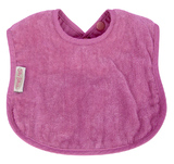Silly Billyz Organic Large Bib (Plum)