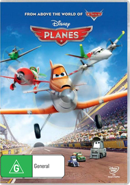 Planes on DVD
