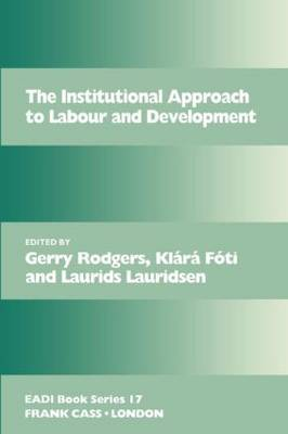 The Institutional Approach to Labour and Development image