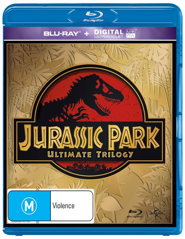 Jurassic Park Ultimate Trilogy on Blu-ray